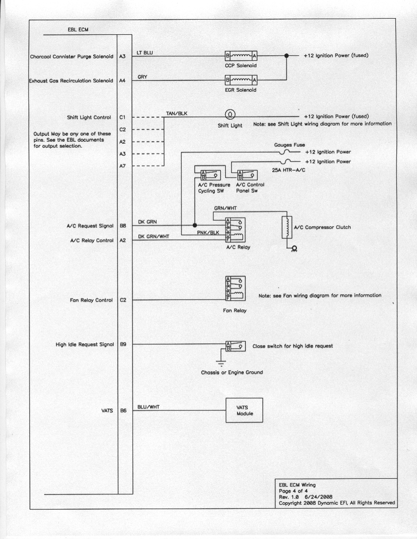 Connection Drawings Emc Wiring Diagrams Sheet 4 Of For Ebl Detailed
