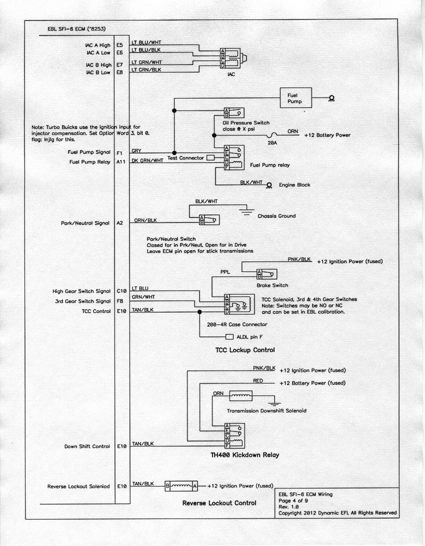 Ebl Sfi 6 Wiring Diagrams Aldl To Usb Schematic Page 4